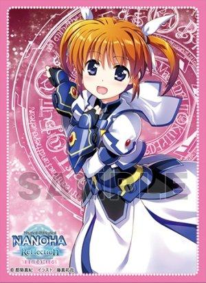 画像1: E賞:キャラクタースリーブEX(60枚入り) E-1 魔法少女リリカルなのは Reflection THE COMICS「高町 なのは」