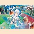 ラバープレイマット Z/X -Zillions of enemy X-「青の竜の巫女ユイ」体育祭Ver.